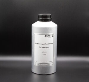 Electrolytes for supercapacitors by E-Lyte Innovations